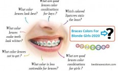 Best Braces Colors For Blond Girls 2020